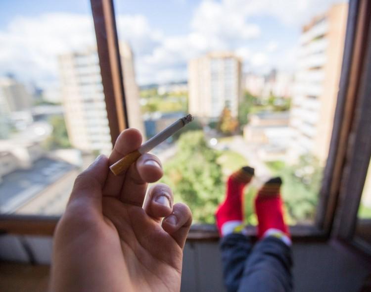G. Bielskus. Rūkymas balkonuose – lyg smurtas šeimoje