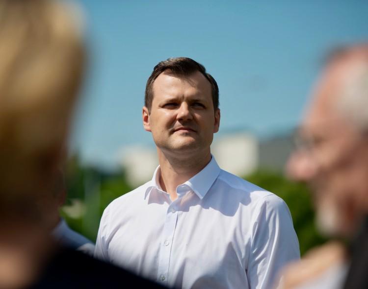 """Gintautas Paluckas apie verslininkų aukas """"valstiečių"""" kandidatui: tai – klasikinė oligarchizacijos schema"""