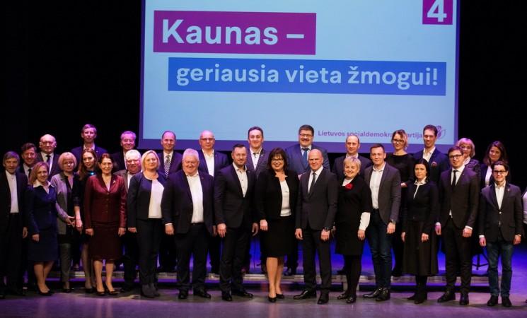 Kauno socialdemokratai į rinkimus eina su ilgiausiu sąrašu