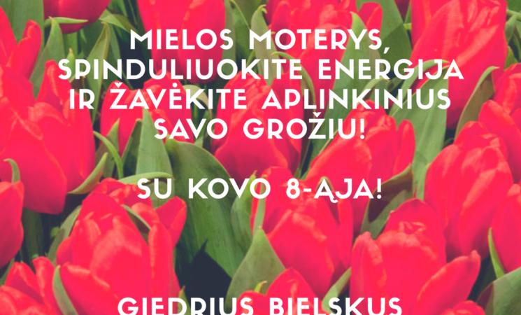 LSDP Kauno miesto skyriaus pirmininko sveikinimas